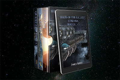 Seeds Of The Galaxy: Cinzana Box Set Now Available On Amazon!